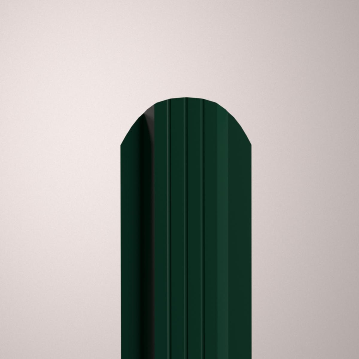 Штакетник имитация бруса
